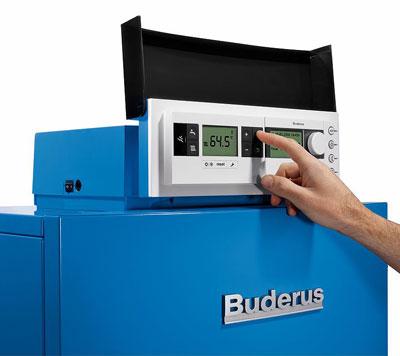 Buderus-Gas-Brennwertkessel