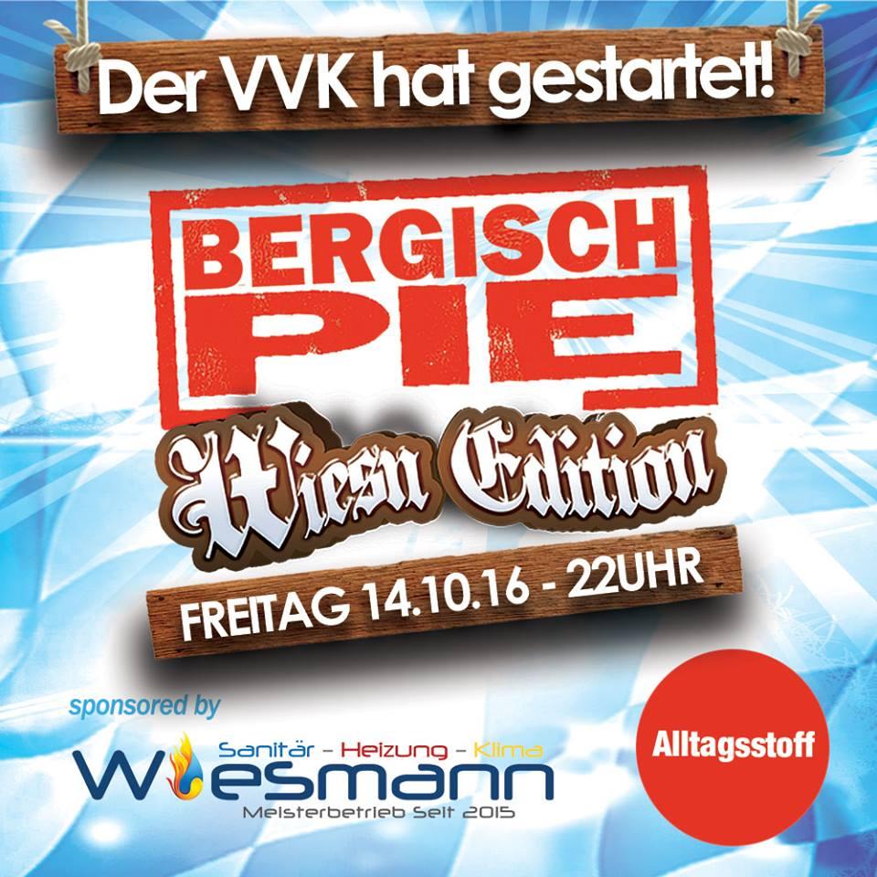 Bergisch Pie – Wiesn Edition