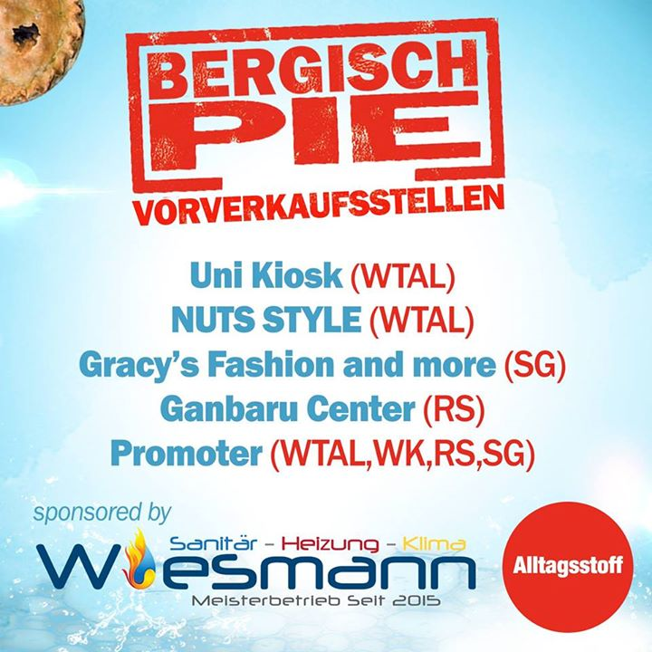 Wiesmann-SHK.de hat Bergisch Pie – Events Foto …