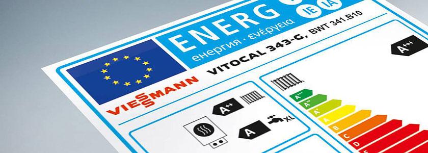 Viessmann-Energieeffizienzlabel
