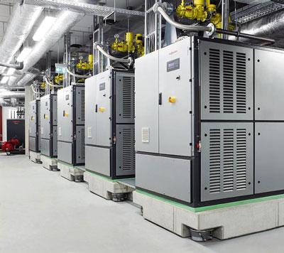 Viessmann-Blockheizkraftwaerke