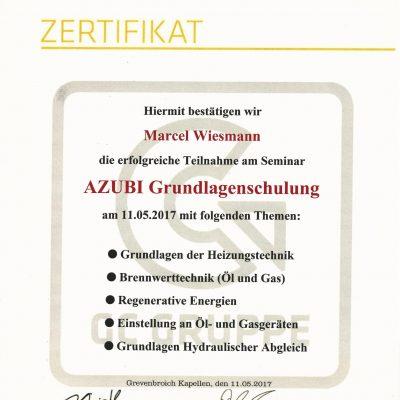 Zertifikat Marcel -1