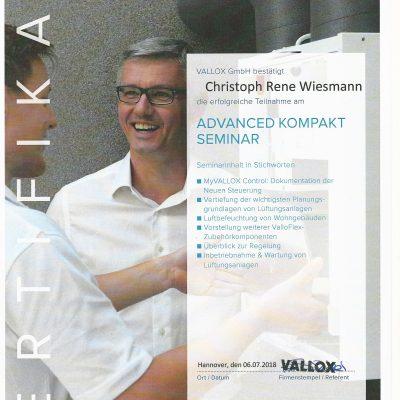 Zertifikat-Vallox-Lüftungstechnische-Anlagen