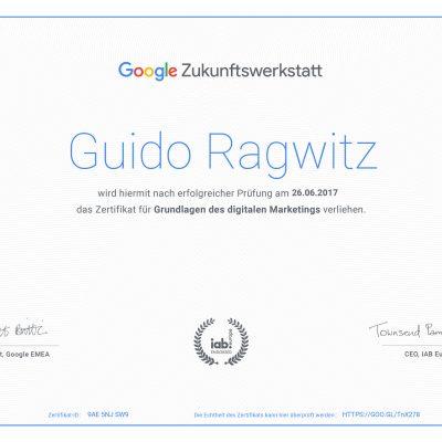 Google-Zukunftswerkstatt-Zertifikat-Guido-Ragwitz